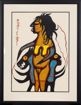 Norval Morrisseau, Untitled, Date Unknown